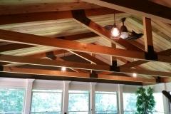 trussed ceiling
